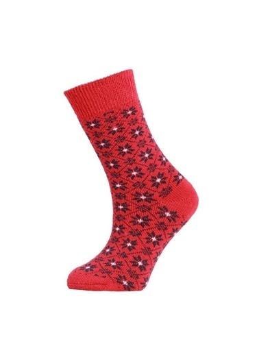 Panthzer Spor Çorap Kırmızı